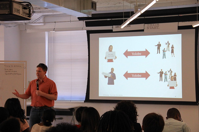 Gene Leynes Speaks About Yolobe at #CivicSummer at 1871