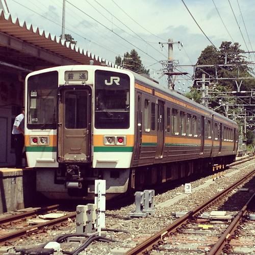 飯田線213系。