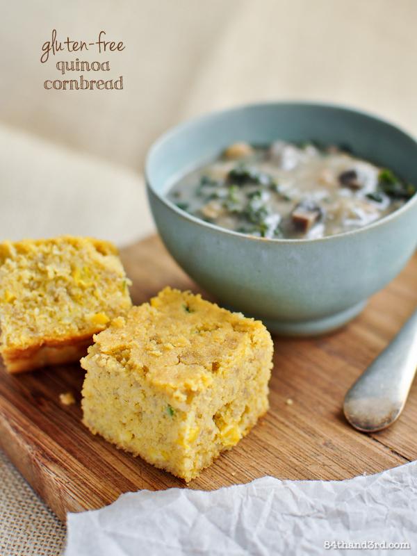 Gluten-free Quinoa Cornbread