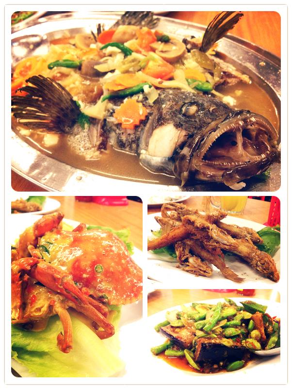 Kuala Sepetang: Kang Kao Seafood Restaurant (十八丁港口海鲜楼)