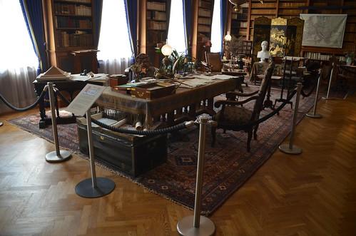 Bibliothek im Schloss Branitz