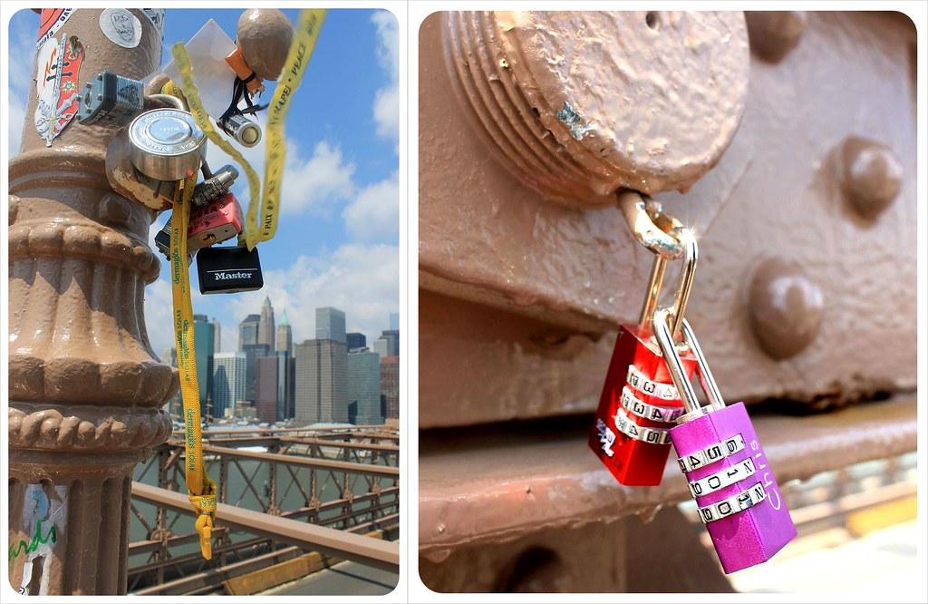 Love Locks Brooklyn Bridge