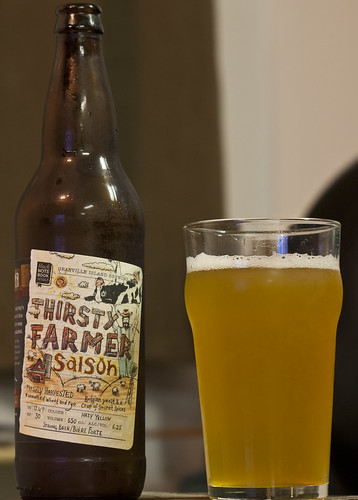 Review: Granville Island Thirsty Farmer Saison (Black Notebook Series) by Cody La Bière