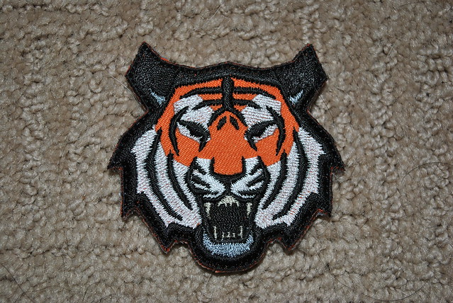Tiger Head (Full Color) Patch