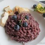 Rezepte mit Blaubeeren: ©Pikantes Blaubeer-Risotto