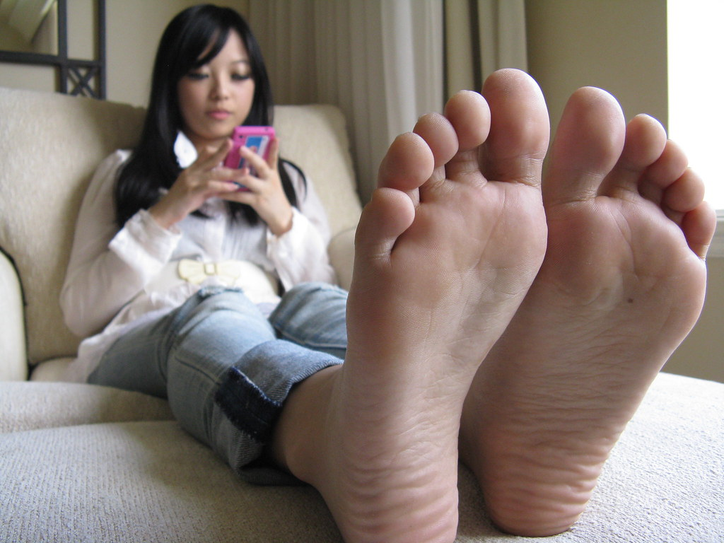 image Young lesbian worship mature feet