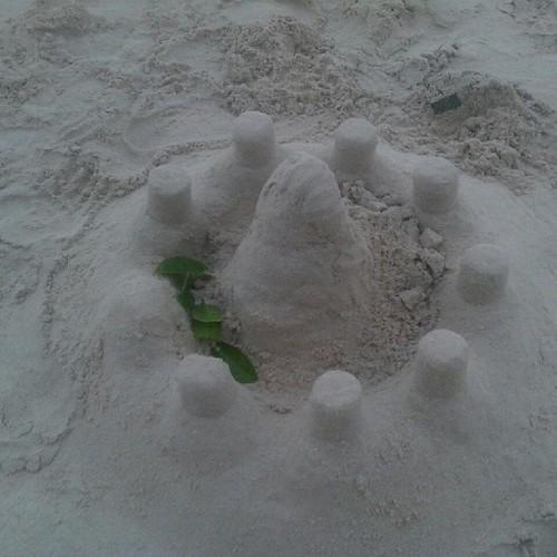 White sand. Not filtered.