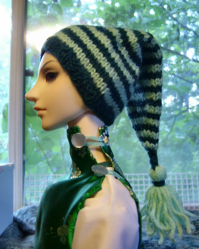 Spearmint Spiral Hat
