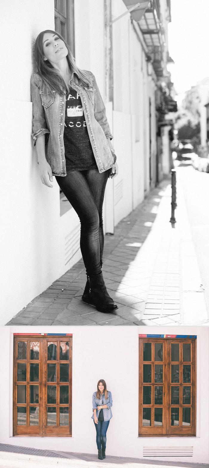 ebay lookbook autumn winter 2013-2014 barbara crespo denim stree style outfit