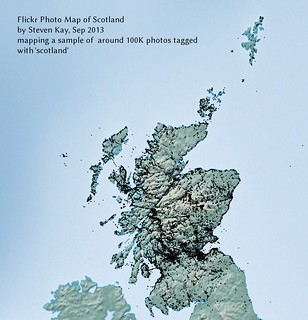 flickr photo map of scotland