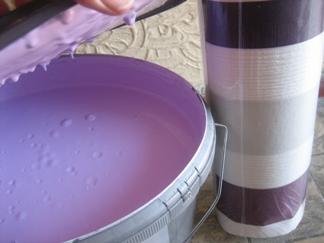 Farbe und Tapete