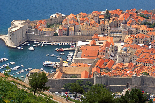 Casco antiguo de Dubrovnik. Croacia.