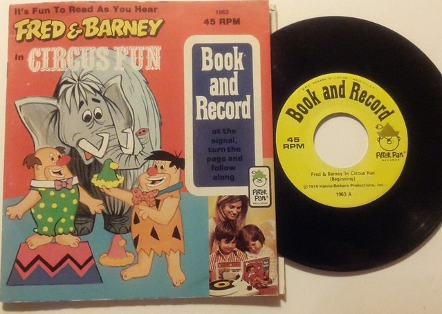 bookrecord_flintstones_circus
