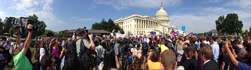 Shutdown Protest at the Capitol