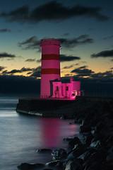 Lighthouse on Garðskagi, Iceland
