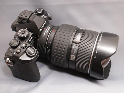 OLYMPUS OM-D E-M1 + ZUIKO DIGITAL ED 7-14mm F4.0 + MMF-3