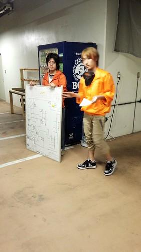 東京サバイバルゲームフィールド ASOBIBA ゲームの説明を聞く