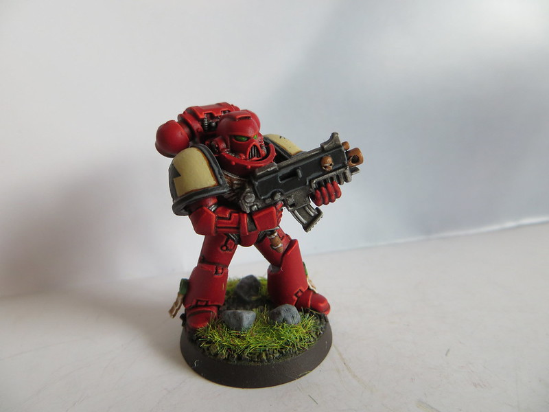 3rd Space Marine Bolter IV