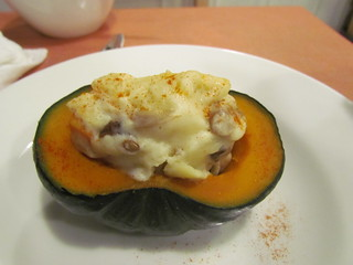 Vege Cafe - Stuffed Pumpkin (no cheese)