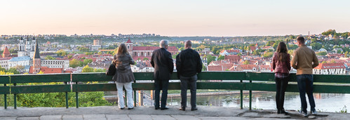 old city travel sunset people panorama oneaday landscape evening town nikon europe day photoaday 365 70200 lithuania pictureaday kaunas project365 365days d810 dayphoto daypicture 131365 nikond810 365one nikon70200mmf28gedvrii 3652015