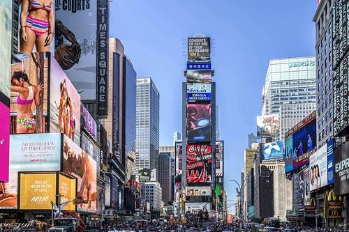 Times Square 01, NY, USA