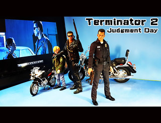 【玩具人Q比軍曹投稿】Terminator 2: Judgment Day ( 拖車篇 )