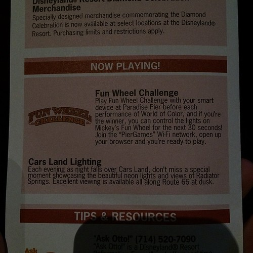 Fun Wheel Challengeすごく楽しみです。