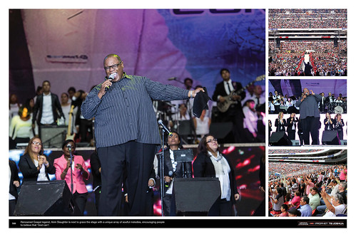 Renowned Gospel legend Alvin Slaughter is the next to grace the stage with a unique array of soulful melodies, encouraging people to believe that 'God can'!