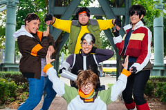Lance, Hunk, Keith, Shiro & Pidge