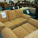 Mustard 3 plus 2 Fabric Couch Set