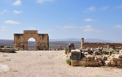 N062 - Volubilis, the Arch of Caracalla