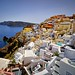 Labyrinth of white roofs. Oia (Santorini) by Abariltur