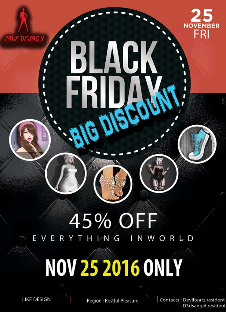 BLACK FRIDAY - SecondLifeHub.com