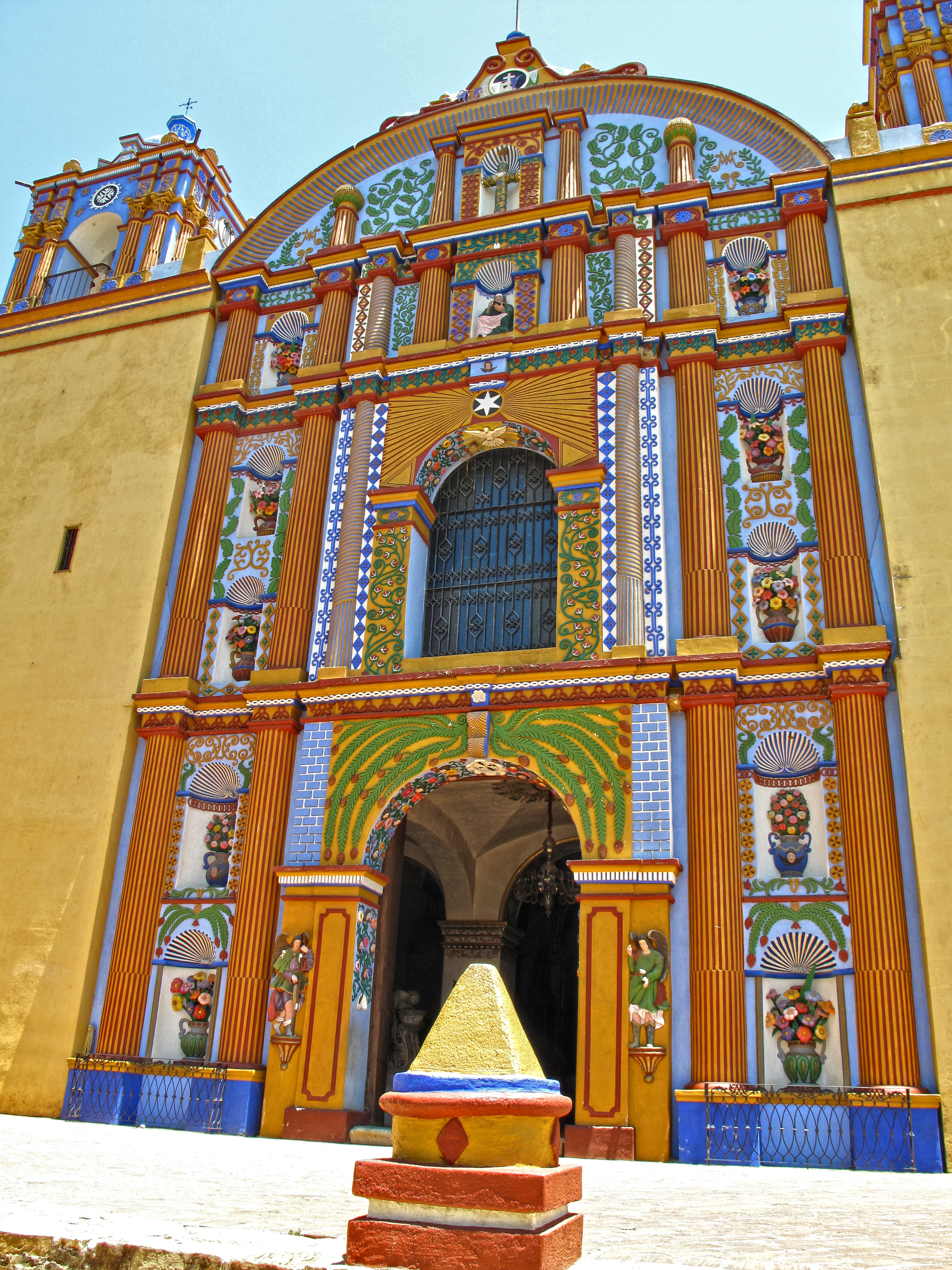 Iglesia de Santa Ana Zegache.
