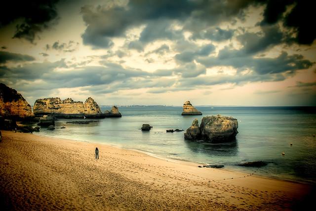 пляж лагош
