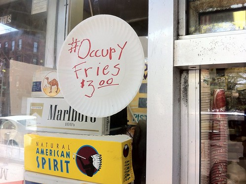 Occupy Fries at Ray's