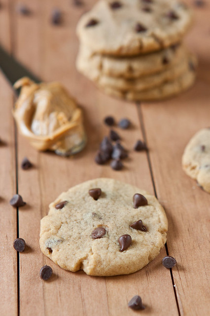"Peanut Butter Chocolate Chip ""Soft Batch"" Cookies"
