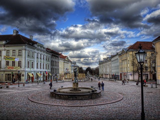 The town Square in Tartu, Estonia | Flickr - Photo Sharing!