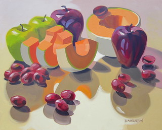 Melon and Apples 24x30
