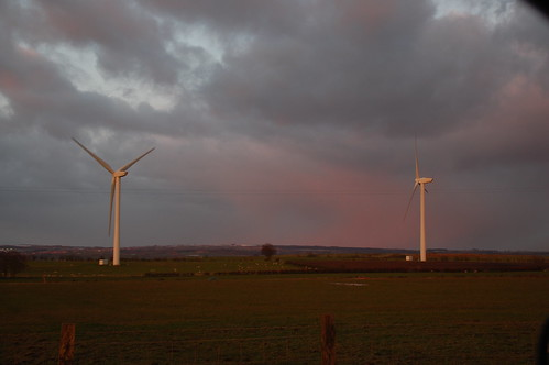 Lanarkshire windpower