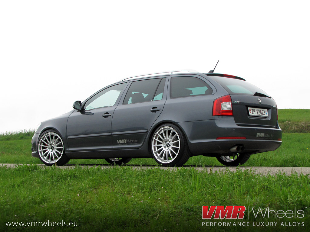 vmr wheels v709 hyper silver skoda octavia rs a photo. Black Bedroom Furniture Sets. Home Design Ideas