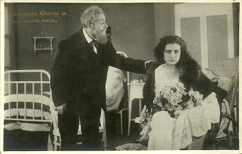 Francesca Bertini in La donna nuda