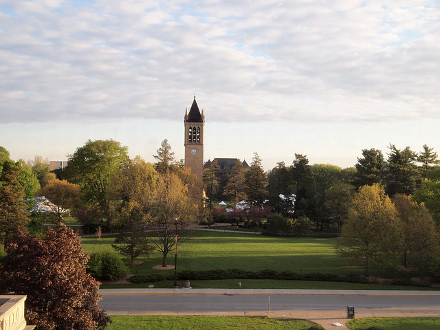 View of Central Campus From my MU Hotel Room, Iowa State University