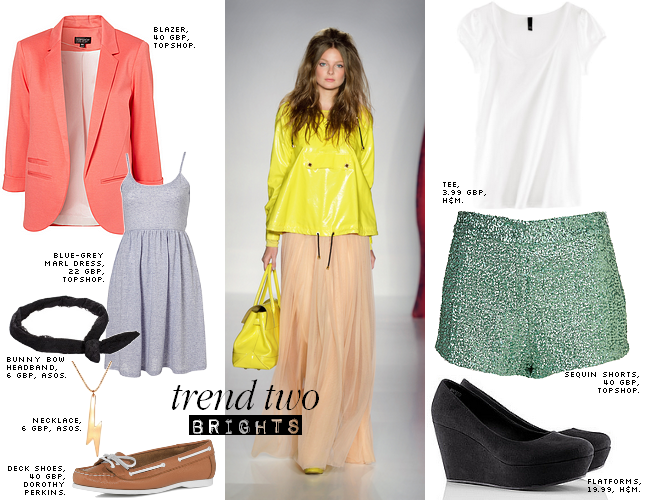 daisybutter - UK Style Blog: ways to wear, SS12 trends, mulberry SS12, brights, topshop, blazer, h&m