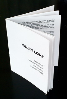 False Love zine from Evil Is Interesting @ antena