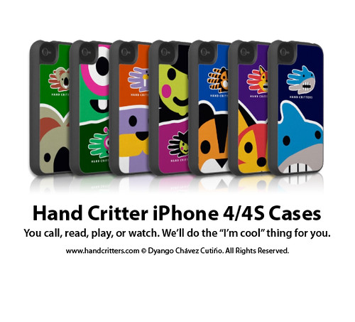 Hand Critter iPhone Cases by handcritters
