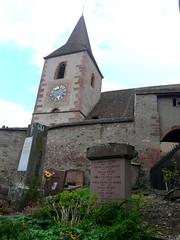 L'église fortifiée d'Hunawihr