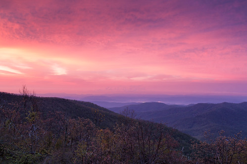 sunrise landscape unitedstates may northcarolina canton mtpisgah appalachianmountains 3652012