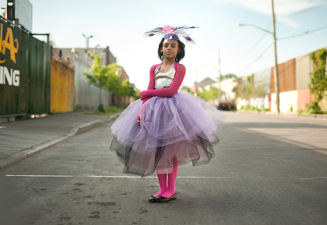 Mia as Titania: Hunts Point Bronx