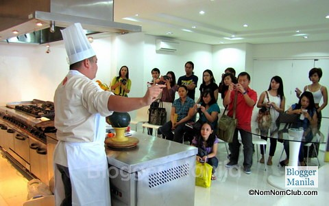 Fruit Carving: Chef Reymar with Blogger Apprentice Contenders